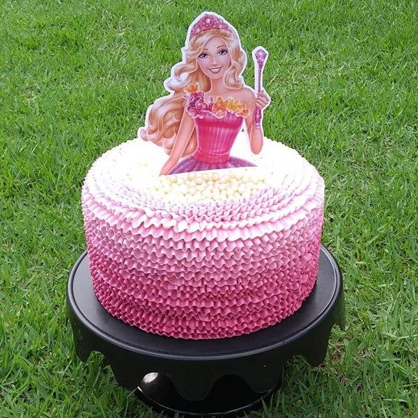 Ideias de bolo da Barbie