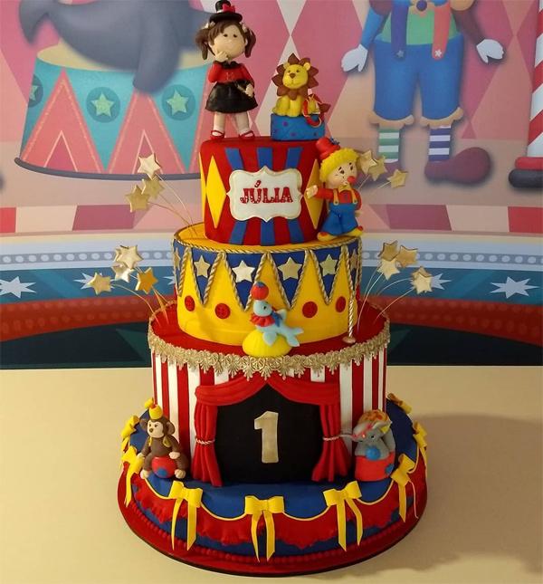 ideias para festa infantil com tema circo
