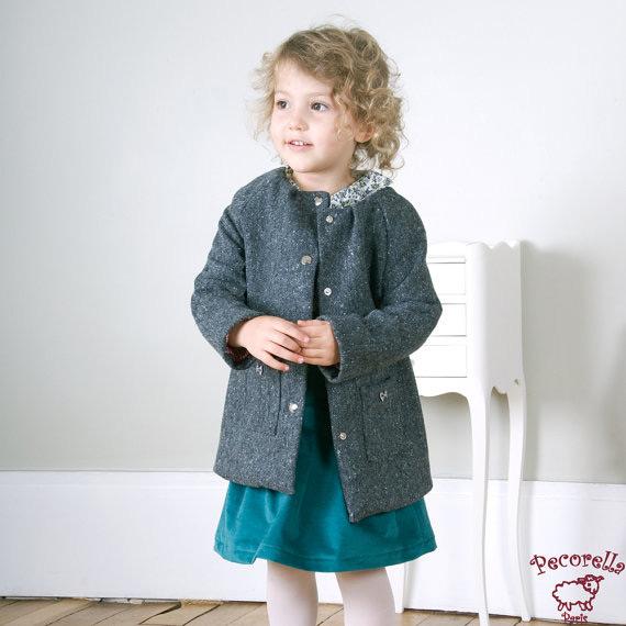 Vestidos infantis outono inverno