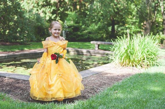 Vestidos de princesas para criança