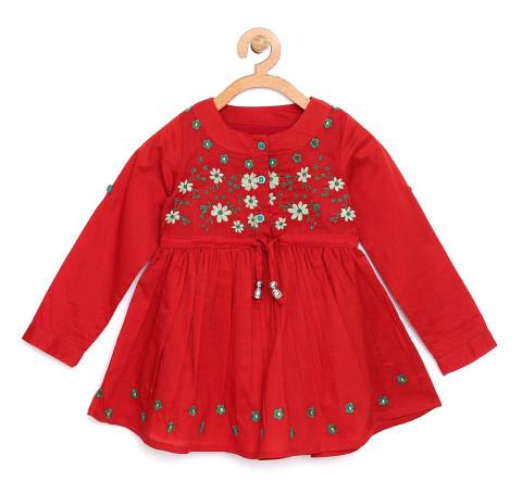 Vestido infantil outono inverno