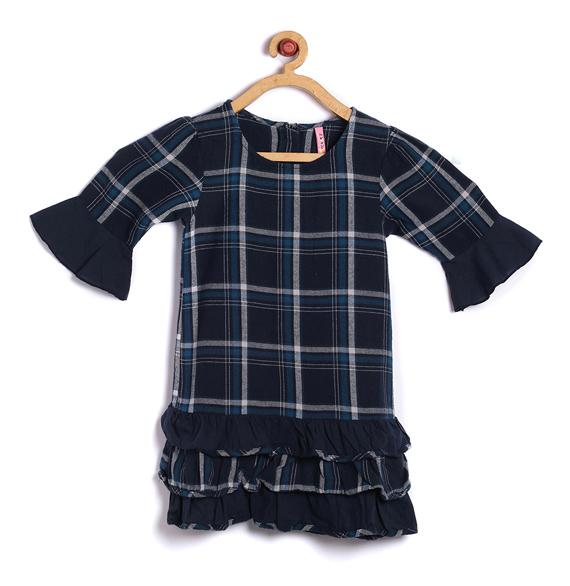 Vestidos infantis outono inverno 2018